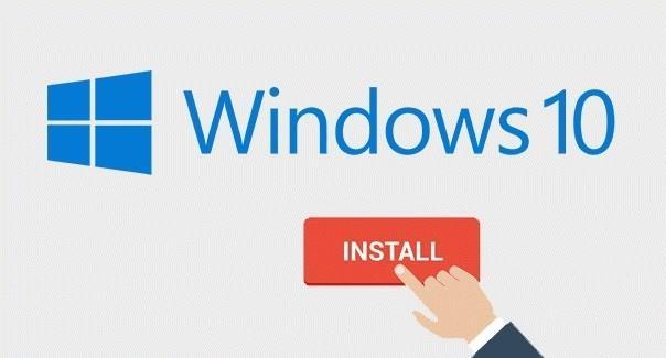 Windows 10 Home Operacinės sistemos diegimas