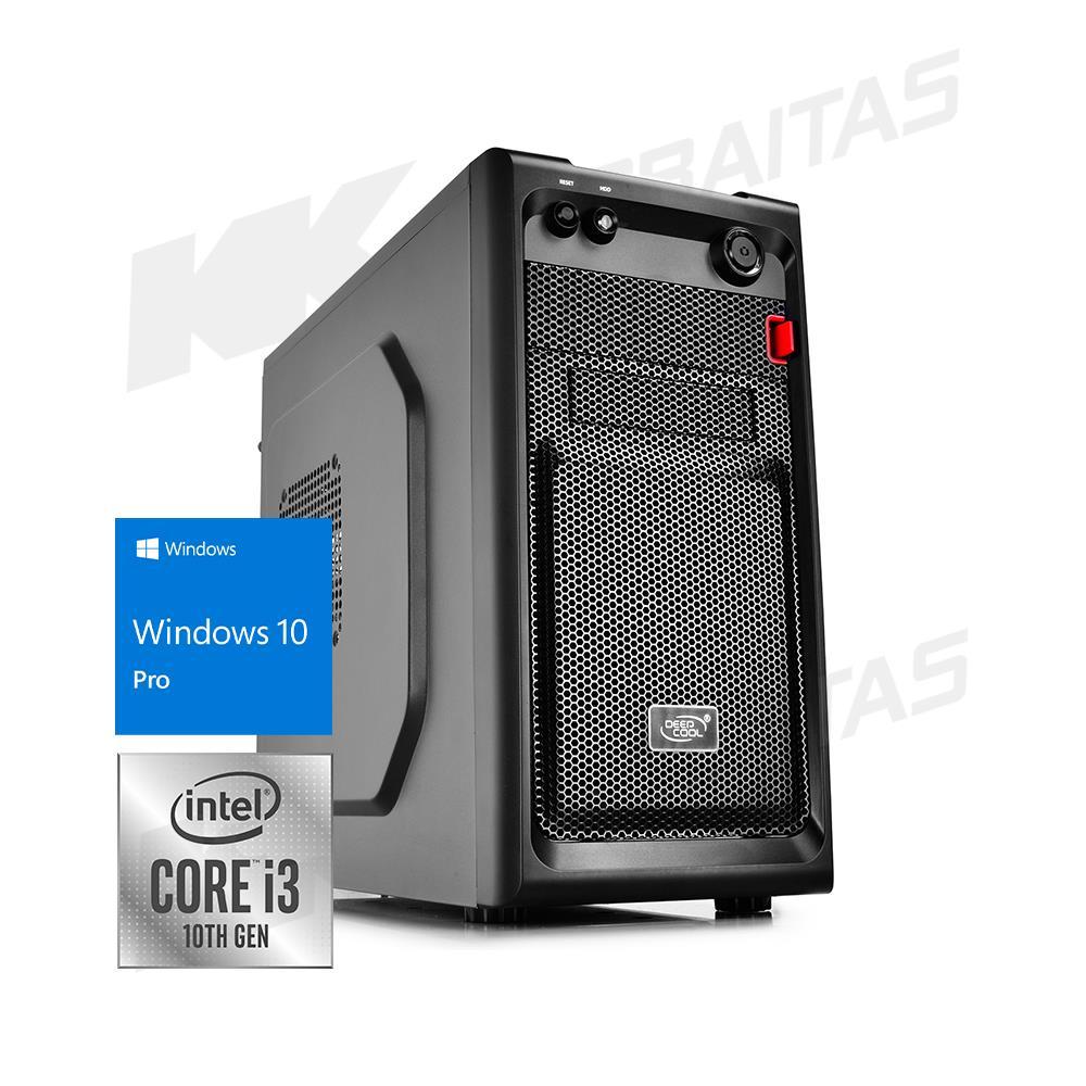 "Kompiuteris ""Verslui Optimalus"" | Intel® Core™ i3-10100 3.60 GHz - 4.30 GHz (""Comet Lake"") | H410M | 8GB DDR4 | 240GB SSD (Skaitymo greitis ~560 MB/s) | Intel® UHD Graphics 630 | Windows 10 PRO | 200881_a"