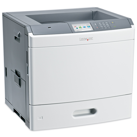 Lexmark C792de Colour, Laser, Printer, A4, Grey, Yes, 47 ipm, USB 2.0 (Type B); Front USB 2.0 port (Type A); Ethernet 10/100/1000 BaseTX (RJ-45), 1200 x 1200 DPI, Duplex functions