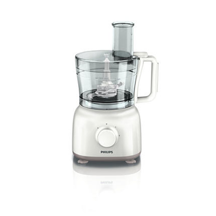 Philips Daily Collection Food processor White, 650 W, Number of speeds 2, 2.1 L
