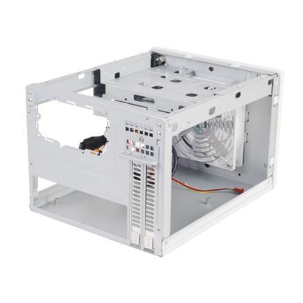 SilverStone Sugo 05  Computer chassis USB 3.0 x2, Mic x1, Spk x1, white, SFF, Power supply included No