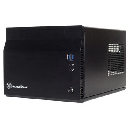 SilverStone Sugo 06 Computer chassis USB 3.0 x 2, Audio x1, Mic x1, Black, ITX, Power supply included No