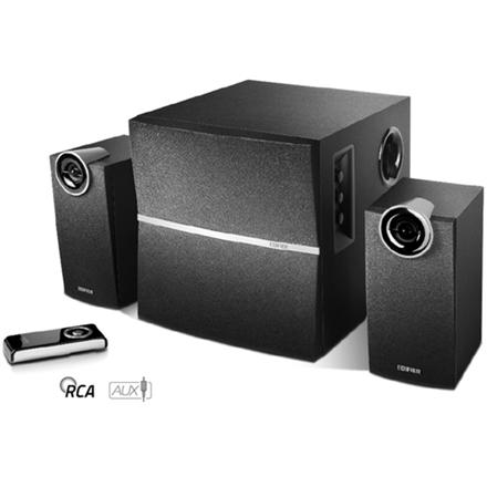 Edifier M3250 Speaker type 2.1, 3.5mm, Black, 36 W
