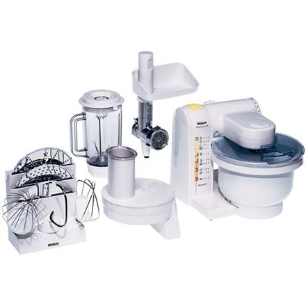 Bosch Kitchen machine MUM4655EU White, 550 W, Number of speeds 4, 3.9 L, Meat mincer