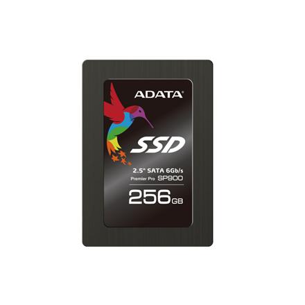 "ADATA Premier Pro SP900 256 GB, SSD form factor 2.5"", SSD interface SATA, Write speed 535 MB/s, Read speed 545 MB/s"