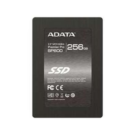 "ADATA Premier Pro SP600 256 GB, SSD form factor 2.5"", SSD interface SATA, Write speed 290 MB/s, Read speed 540 MB/s"