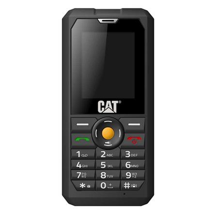 "CAT B30 Black, 2.0 "", TFT, 144 x 176 pixels, 128 MB, 256 MB, Dual SIM, 3G, Bluetooth, 2.1, USB version 2.0, Built-in camera, Main camera 2 MP, 1000 mAh"