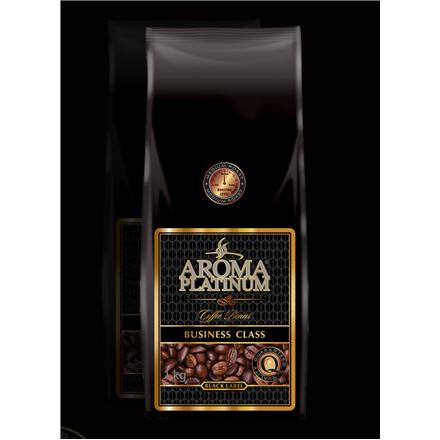 Aroma Platinum Business Class Black Label Coffee beans, 100% Arabika, 1000 g