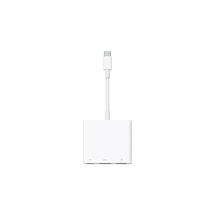 Apple Adapter USB-C Digital AV Multiport Adapter MJ1K2ZM/A USB C, USB A, HDMI, USB C