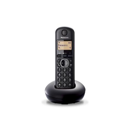 Panasonic Cordless KX-TGB210FXB Black, Built-in display, Caller ID, Phonebook capacity 50 entries