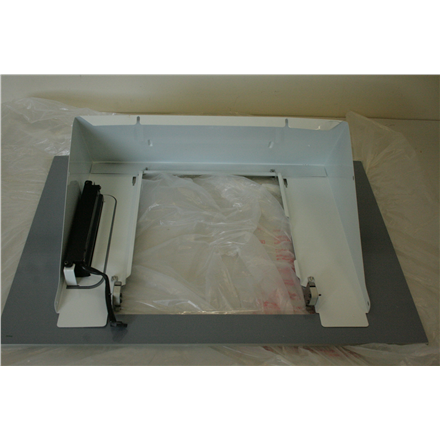 SALE OUT. CATA Podium 600 XGWH  Energy efficiency class E, Wall mounted, Width 60 cm, 560 m /h, Smart Touch Sensor, White glass, Halogen, DAMAGED PACKAGING, DENT ON LEFT SIDE OF HOUSING, CRACKED PAINT