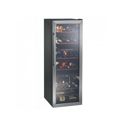 Hoover Wine cooler HWC 25360DL Free standing, Big, Bottles capacity 70, Black