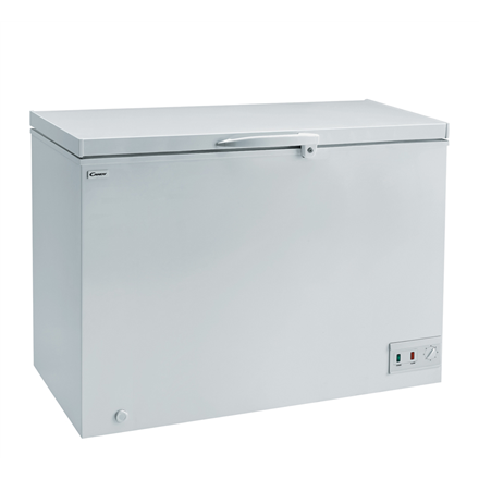 Candy CCHE 260 Chest, Height 84 cm, Total net capacity 265 L, A+, White, Free standing