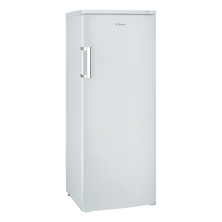 Candy Freezer CCOUS 5142WH Upright, Height 143 cm, Total net capacity 162 L, A+, Freezer number of shelves/baskets 6, White, Free standing,