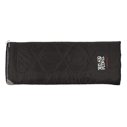 Easy Camp Chakra, Sleeping Bag, 190x75 cm, +15/+10/+5 °C, Black