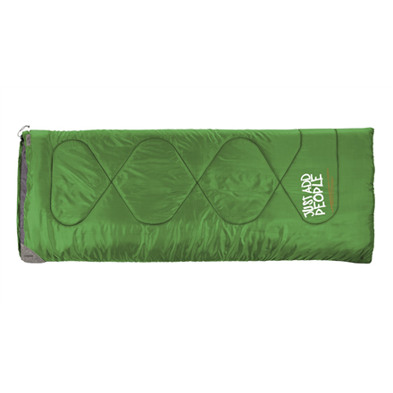 Easy Camp Chakra, Sleeping bag, 190x75 cm, +25/+10/+5 °C, Green