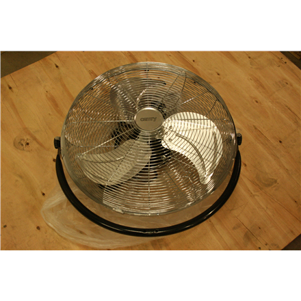 SALE OUT. Camry CR 7307 Velocity fan, Size 45cm, 3 speed settings, Metal blade, Angle adjustment, Height adjustment, Stable base, Power 170 W -  Camry CR 7307 Velocity fan, DAMAGED PACKAGING, 120 W, Diameter 45 cm, Number of speeds 3, Black/Stainless steel