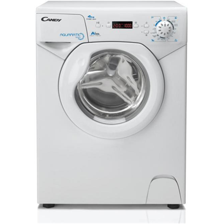 Candy Washing machine AQUA 1142 D1 Front loading, Washing capacity 4 kg, 1100 RPM, A+, Depth 44 cm, Width 51 cm, White, Display, LED