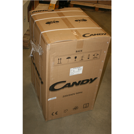 SALE OUT. Candy Refrigerator CCTOS 502XH A+, Free standing, Larder, Height 84 cm, Fridge net capacity 84 L, Freezer net capacity 13 L, 40 dB, Stainless steel, DAMAGED PACKAGING FOAM, MIKRO DENT ON SIDE