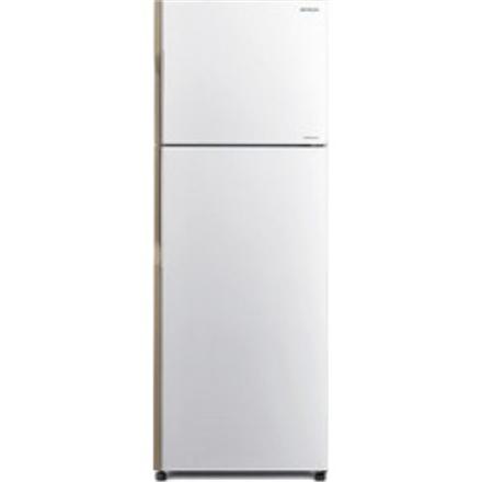 Hitachi R-H240PRU4 PWH Free standing, Double Door, Aukštis 146 cm, A+, Bešerkšnė sistema, Šaldytuvo talpa neto 152 l, Šaldymo kameros talpa neto 51 l, 40 dB, Pearl White
