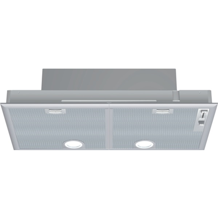 Hood SIEMENS LB75564 Built-in, Width 73 cm, 320 m³/h, Silver, Energy efficiency class D, 59 dB