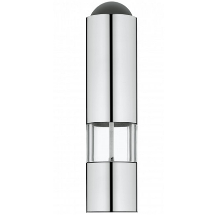 WMF 06 6730 6030 Electric pepper mill, Housing material Acrylic, Stainless s, AAA 1.5 V, Dishwasher safe, Metal