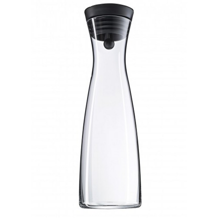 WMF Water decanter with CloseUp stopper, 1,5L, Black,