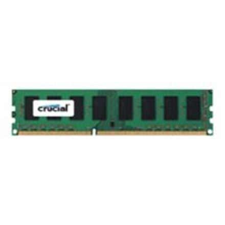 Crucial 4 GB, DDR3, 1600 MHz, PC/server, Registered No, ECC No