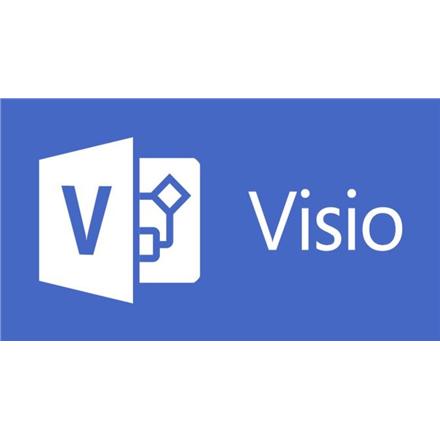 Microsoft D86-05555 Visio Std 2016 Win English Medialess Microsoft