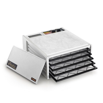 Excalibur 4526TWW White, 440 W, Number of trays 5, Temperature control, Integrated timer