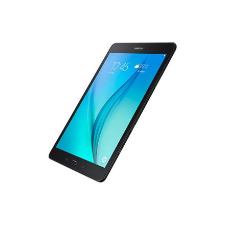 "Samsung Galaxy Tab A T555 9.7 "", Black, TFT, 768x1024 pixels, 2 GB, 16 GB, Wi-Fi, 3G, 4G, Front camera, 2 MP, Rear camera, 5 MP, Bluetooth, 4.1, Android, 5.0, Warranty 24 month(s)"
