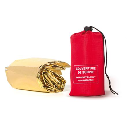 FRENDO Gold/Silver survival blanket