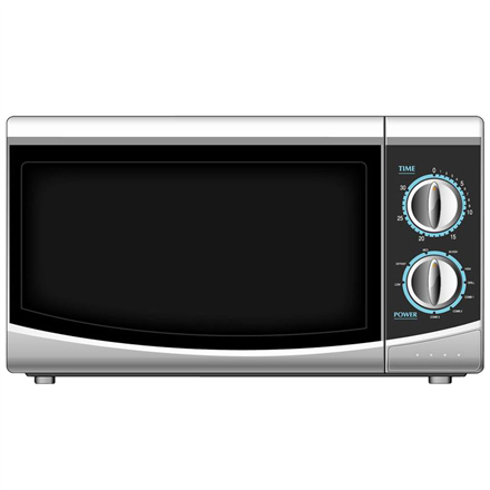Haier Microwave oven HGN-2070M 20 L, Mechanical, 700 W, White, Free standing, Defrost function