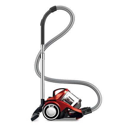 Dirt Devil Vacuum cleaner DD2225-1 Rebel 25 HFC Warranty 24 month(s), Bagless, Red, 700  W, 2.7 L, A, A, D, A, 79 dB, HEPA filtration system,