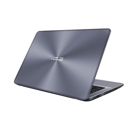 "Asus VivoBook X442UA Dark Grey, 14 "", FHD, 1920 x 1080 pixels, Matt, Intel Core i3, i3-7100U, 4 GB, DDR4 on board, SSD 128 GB, Intel HD, Without ODD, Windows 10 Home, 802.11 ac, Bluetooth version 4.1, Keyboard language English, Battery warranty 12 month(s)"