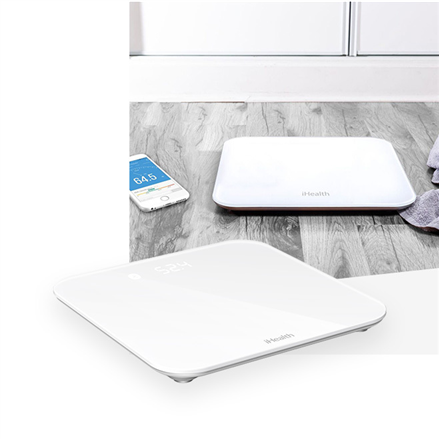 iHealth Smart Scale Lina HS2 Body, Connectivity: Bluetooth 4.1 class 2, Maximum weight (capacity) 180 kg, Memory function, Auto power off, Multiple users, Body Mass Index (BMI) measuring