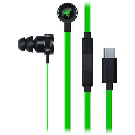 Razer  Hammerhead USB-C,  Digital Gaming and Music In-Ear Headset, Green, Built-in microphone, USB Type-C