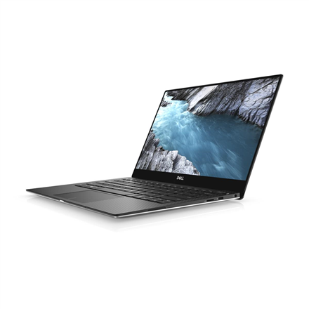 "Dell XPS 13 9370 Silver, 13.3 "", Full HD, 1920 x 1080 pixels, Gloss, Intel Core i7, i7-8550U, 8 GB, LPDDR3, SSD 256 GB, Intel UHD, Windows 10 Pro, 802.11ac, Bluetooth version 4.2, Keyboard language English, Keyboard backlit, Warranty Basic Next Business Day 36 month(s), Battery warranty 12 month(s)"
