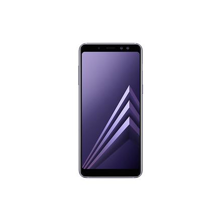 "Samsung Galaxy A8 (2018) A530 Orchid Grey, 5.6 "", Super AMOLED, 1080 x 2220 pixels, Exynos 7885, Internal RAM 4 GB, 32 GB, microSD, Dual SIM, Nano-SIM, 3G, 4G, Main camera 16 MP, Secondary camera Dual: 16+8 MP, Android, 7.1.1, 3000 mAh"