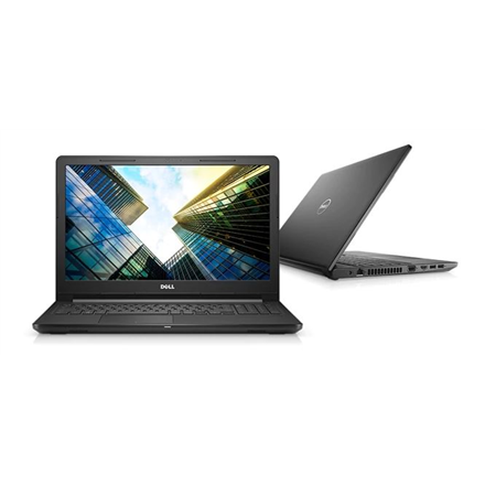"""Dell Vostro 15 3578 Black, 15.6 """", Full HD, 1920 x 1080 pixels, Matt, Intel Core i5, i5-8250U, 8 GB, DDR4, SSD 256 GB, AMD Radeon R5 M420, DDR3L, 2 GB, Tray load DVD Drive (Reads and Writes to DVD/CD), Linux, 802.11ac, Bluetooth version 4.1, Keyboard language English, Warranty Basic Next Business Day 36 month(s), Battery warranty 12 month(s)"""