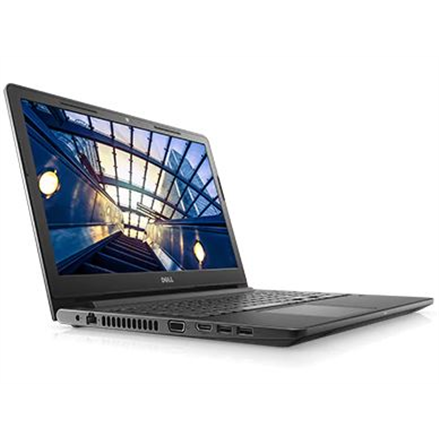 """Dell Vostro 15 3578 Black, 15.6 """", Full HD, 1920 x 1080 pixels, Matt, Intel Core i7, i7-8550U, 8 GB, DDR4, SSD 256 GB, AMD Radeon R5 M420, DDR3L, 2 GB, Tray load DVD Drive (Reads and Writes to DVD/CD), Windows 10 Pro, 802.11ac, Bluetooth version 4.1, Keyboard language English, Warranty Basic Onsite 36 month(s), Battery warranty 12 month(s)"""