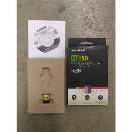 SALE OUT. Edimax EW-7811UN N150 Nano USB Wi-Fi Adapter Edimax REFURBISHED USED