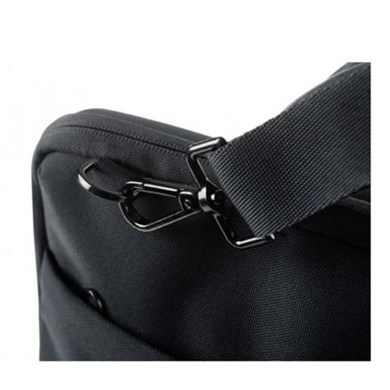 """Tucano Darkolor Fits up to size 14 """", Black, Shoulder strap, Messenger - Briefcase"""
