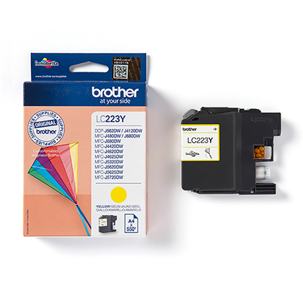Print4you Analog Brother LC223Y  Ink Cartridge, Yellow