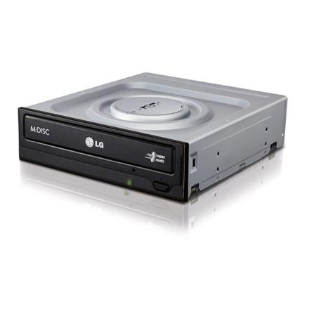 H.L Data Storage DVD-Writer HH Retail type GH24NSD6 Internal, Interface SATA, DVD±R/RW, CD read speed 48 x, CD write speed 48 x, Black, Desktop