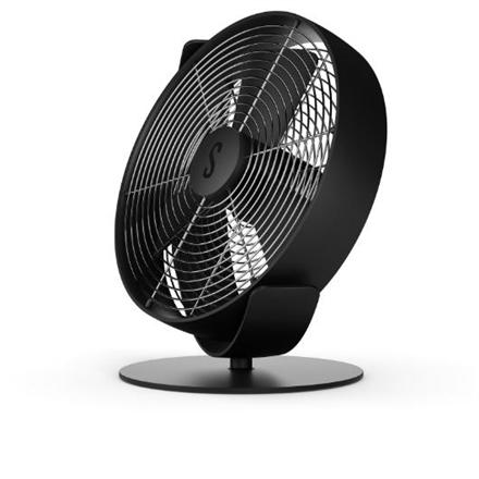 Stadler form Fan TIM T-021 Table Fan, 10 W, Oscillation, Diameter 27 cm, Black