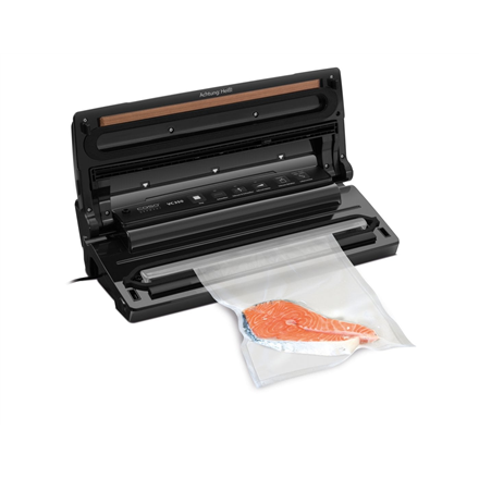 Caso Bar Vacuum sealer  VC350  Power 120 W, Temperature control, Stainless steel