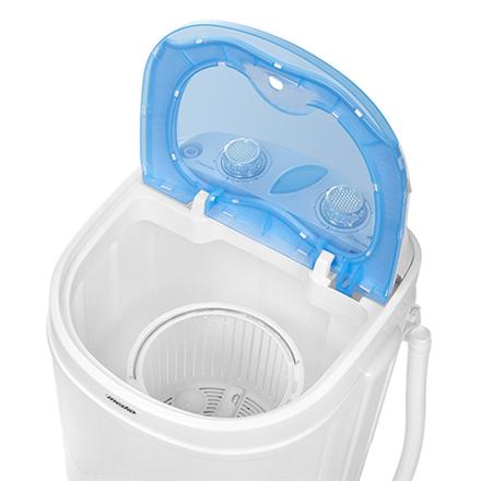 Mesko Washing machine semi automatic MS 8053 Top loading, Washing capacity 3 kg, Depth 37 cm, Width 36 cm, White