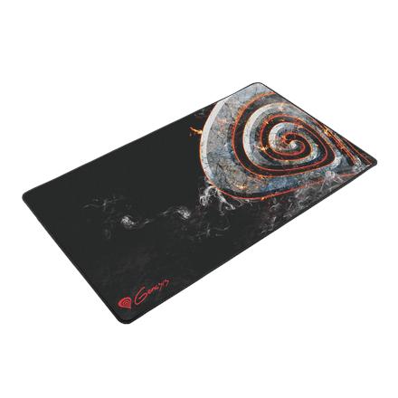 Genesis Carbon 500 Maxi Lava NPG-0749 Black, Mouse pad, Textile, 450 x 900 mm