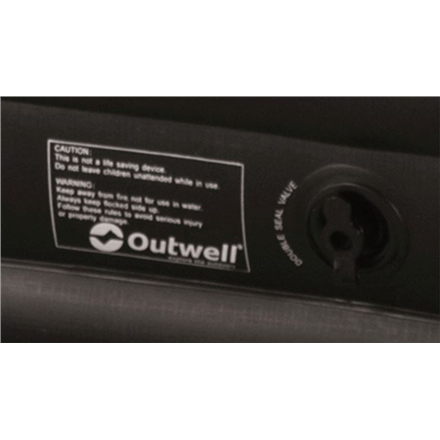Outwell Excellent Double, Flock mattress, with practical carrybag